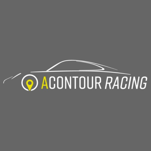 Racing Logo weiss - Männer Premium T-Shirt
