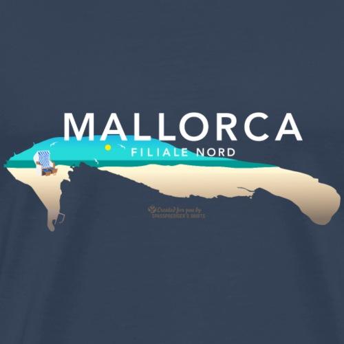 Wangerooge Mallorca Filiale Nord - Männer Premium T-Shirt
