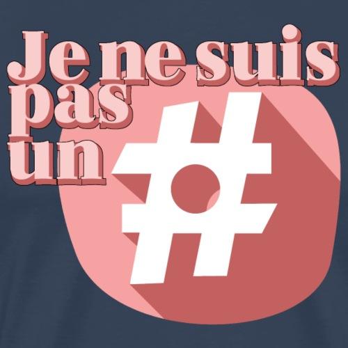 HASHTAG FRENCH - T-shirt Premium Homme