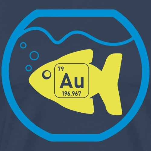 Gold Fish - Mannen Premium T-shirt