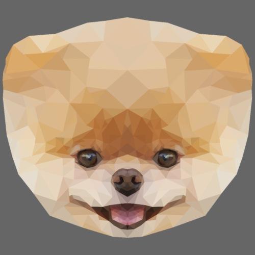 Polygon Dog - Koszulka męska Premium