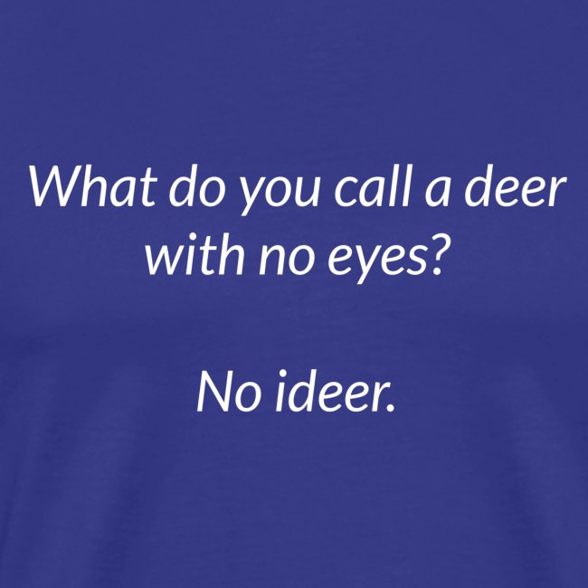 Deer With No Eyes