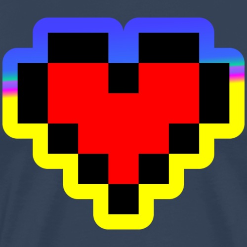 Retro Love - Männer Premium T-Shirt