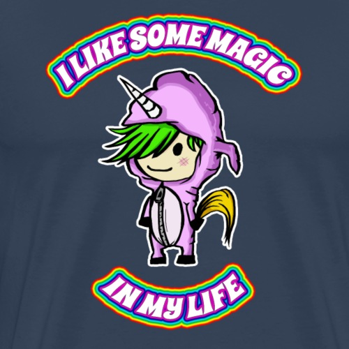 I like some Magic in my life - Männer Premium T-Shirt