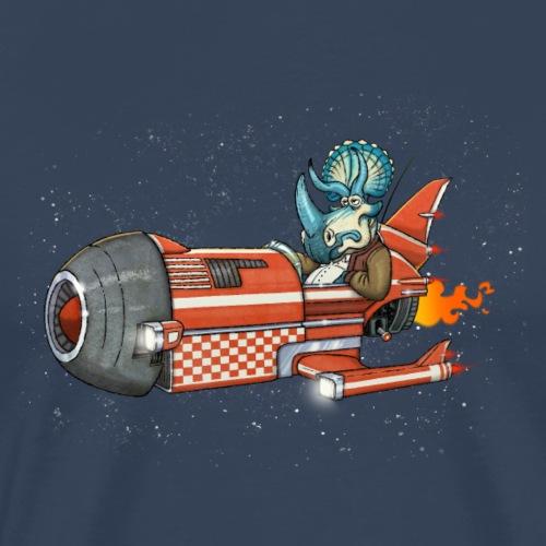 spaceshiposaurus - Men's Premium T-Shirt