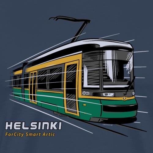 Helsingin Raitiovaunu T-paidat, 154 upeaa tuotetta - Miesten premium t-paita