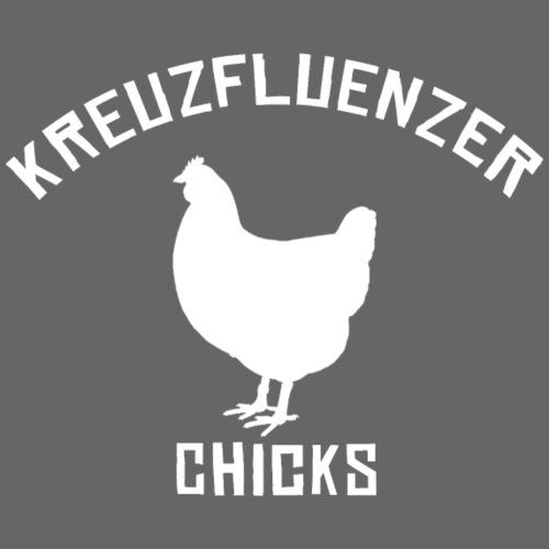 Kreuzfluenzer Chicks WHITE - Männer Premium T-Shirt