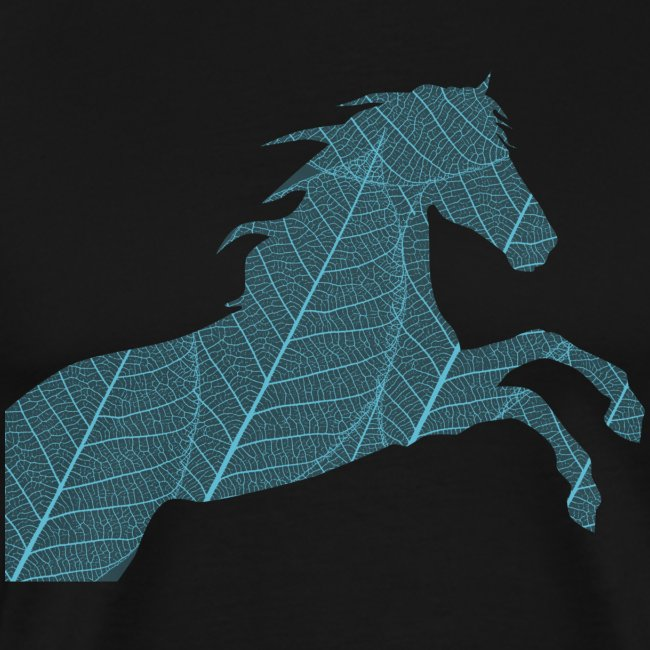 Cheval feuille