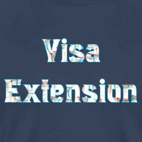 Visa Extension - Men's Premium T-Shirt
