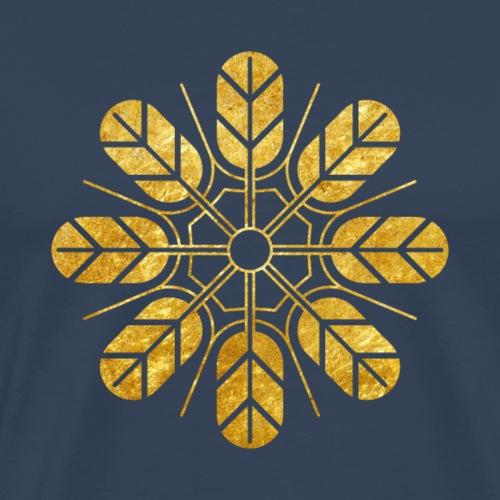 Inoue clan kamon in gold - Men's Premium T-Shirt