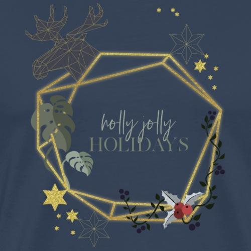 weihnachtskranz - Männer Premium T-Shirt