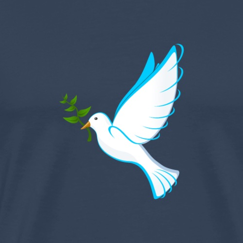 Dove of Peace - Men's Premium T-Shirt