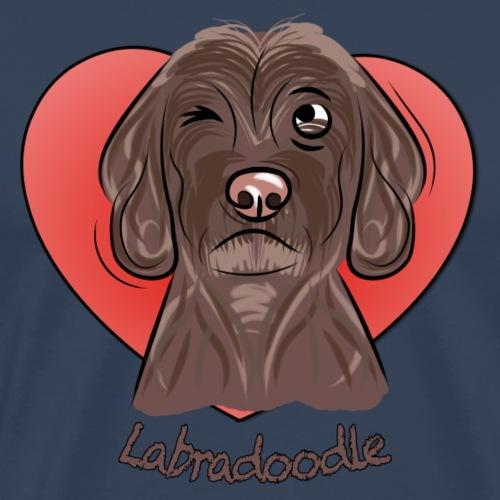 labradoodle - Männer Premium T-Shirt