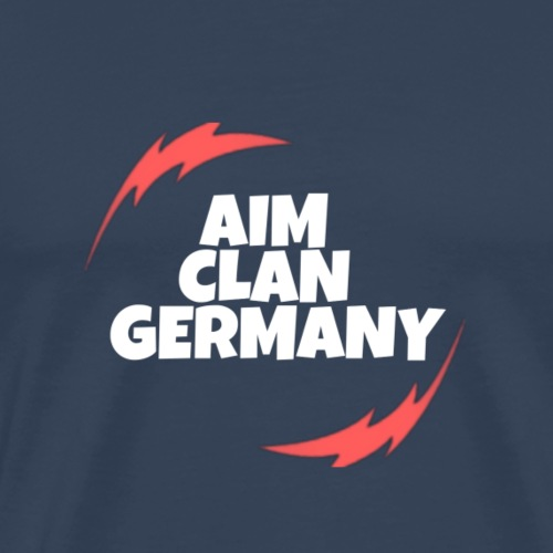 AIM CLAN GERMANY LOGO - Männer Premium T-Shirt