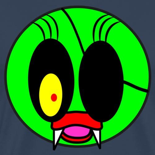 monster mit augenklappe - Männer Premium T-Shirt