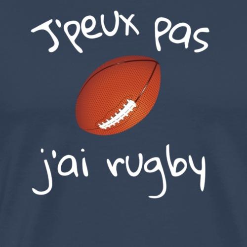 J oeux pas jai rugby - T-shirt Premium Homme