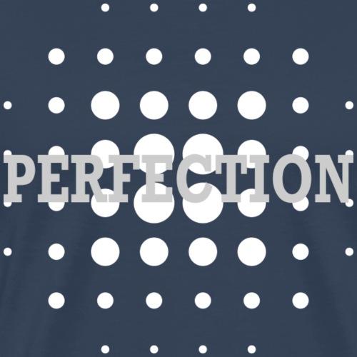 Perfection, blanc - T-shirt Premium Homme