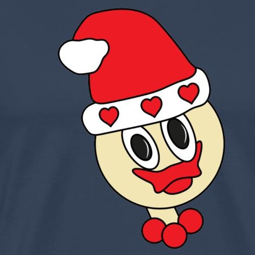 weihnachtsgirl-ente - Männer Premium T-Shirt