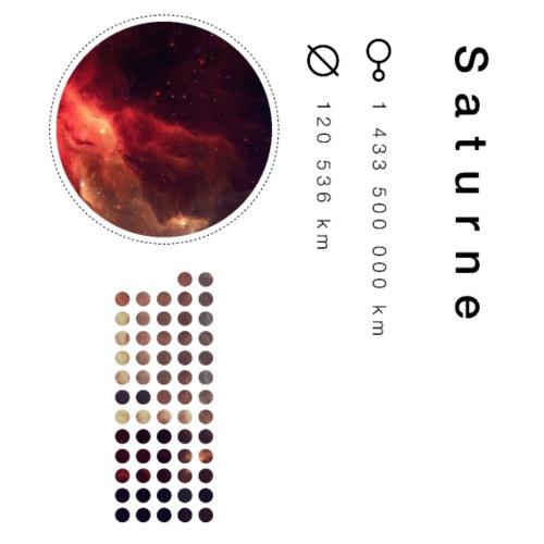 Saturne - T-shirt Premium Homme