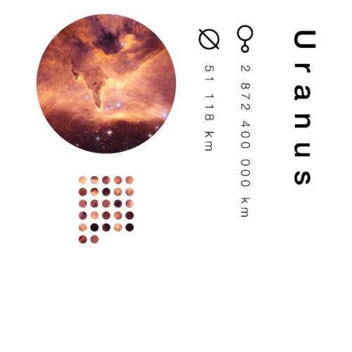Uranus - T-shirt Premium Homme