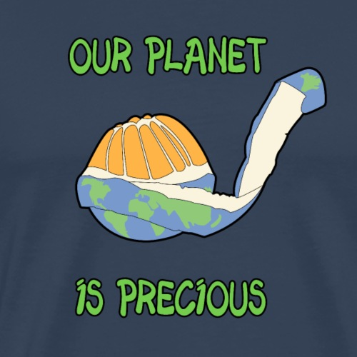 Our planet is precious - T-shirt Premium Homme