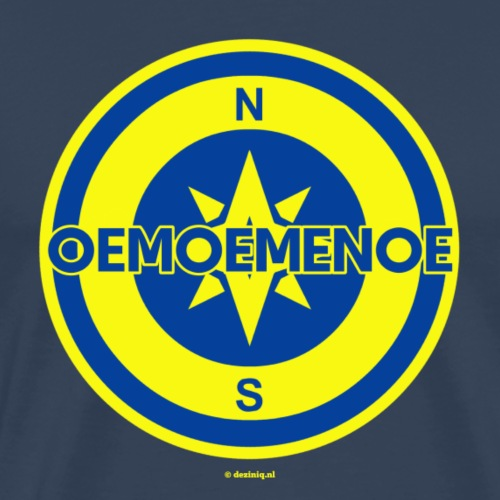 Oemoemenoe - Mannen Premium T-shirt