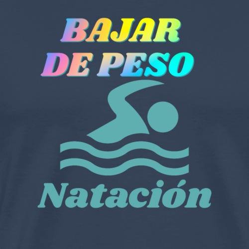 Natación para bajar de peso - Camiseta premium hombre