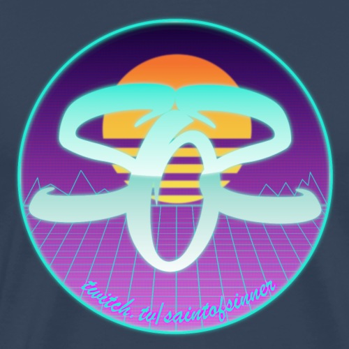 Retrofuture SOS - Männer Premium T-Shirt