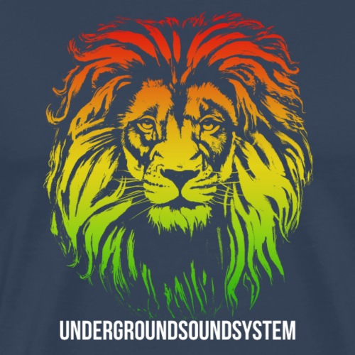 LION HEAD UNDERGROUNDSOUNDSYSTEM AUSTRIA - Männer Premium T-Shirt