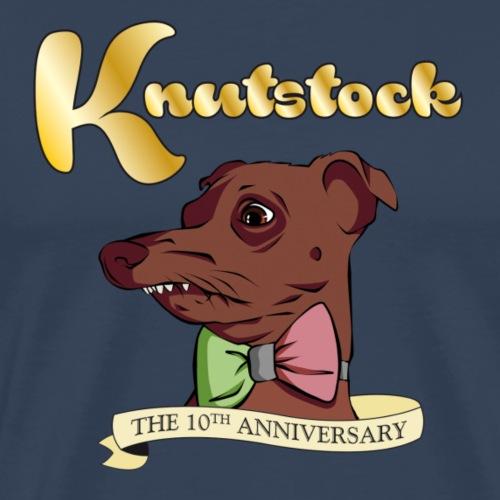 KnutstockAnniversaryBanner Phteven - Männer Premium T-Shirt