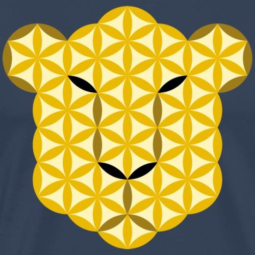 The Leopard Of Life - Big Cats, Sacred Animals - Men's Premium T-Shirt
