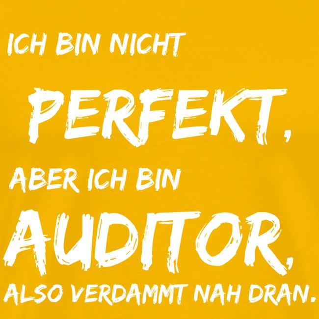 nicht perfekt auditor white