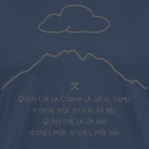 Proverbio Concarena - Maglietta Premium da uomo