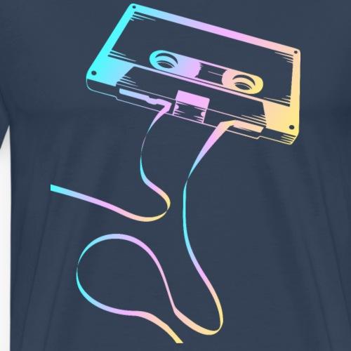 Kassette Tape Band - Liebe für das alte Tonband - Männer Premium T-Shirt