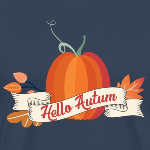 Herbst T-Shirt Hello Autum