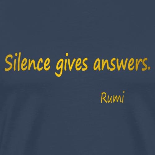 Silence - Men's Premium T-Shirt