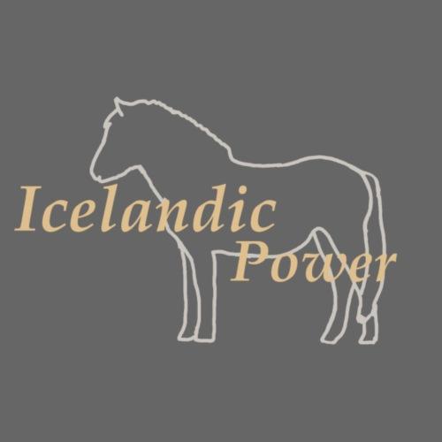 icelandic power - Männer Premium T-Shirt