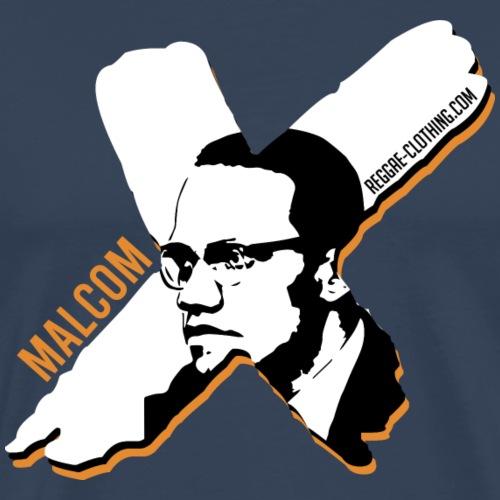 Malcom X - X Letter - Männer Premium T-Shirt