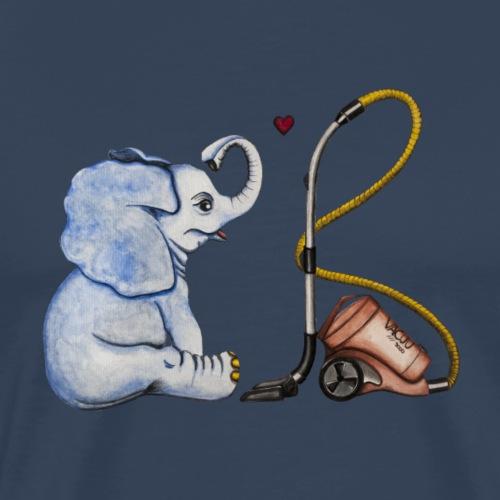 elephant in love - Männer Premium T-Shirt