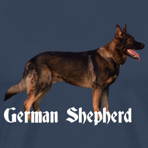 Deutscher Schäferhund,Hundesoprt,Hundekopf,Hunde, - Männer Premium T-Shirt