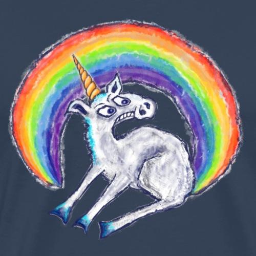 Reluctant Rainbow - Men's Premium T-Shirt