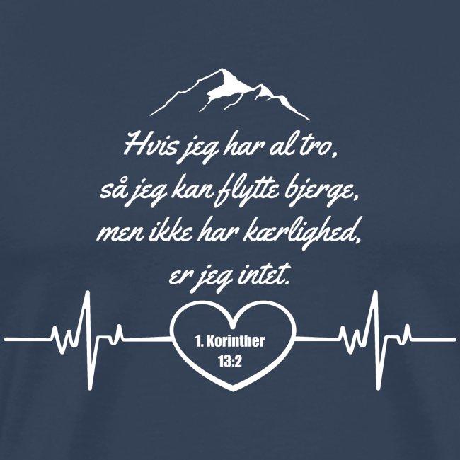 1 korinther 13:2 Hvid