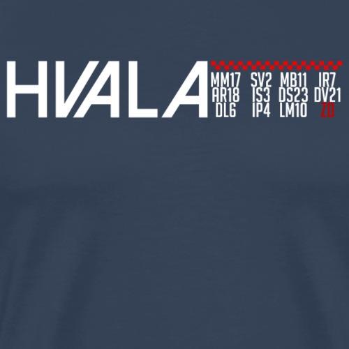 Hvala Dečki za 11.07.18 Shirt Hrvatska Neopisivo - Männer Premium T-Shirt