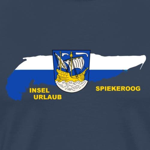 Spiekeroog Nordsee Insel Urlaub - Männer Premium T-Shirt