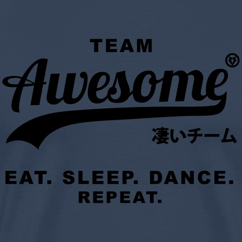 finishTeamAwesome - Männer Premium T-Shirt