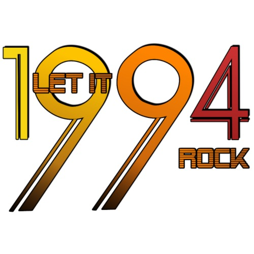 Let it Rock 1994 - Männer Premium T-Shirt