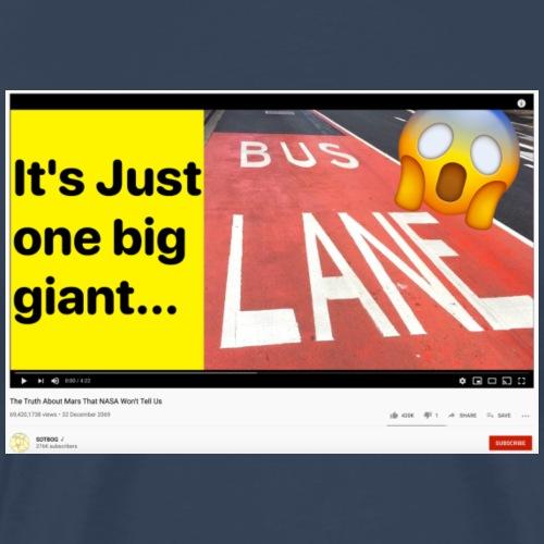 Planet Bus Lane - Men's Premium T-Shirt