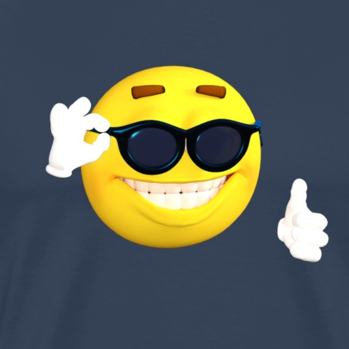 Emoji cool fun - T-shirt Premium Homme