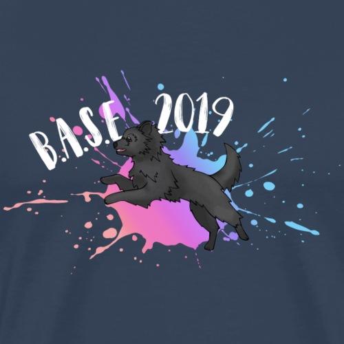 BASE - 2019 - BPPL - WHITE - Männer Premium T-Shirt