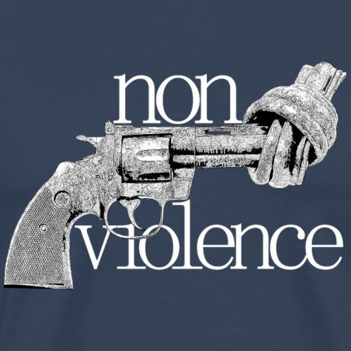 NON-VIOLENCE - Premium-T-shirt herr